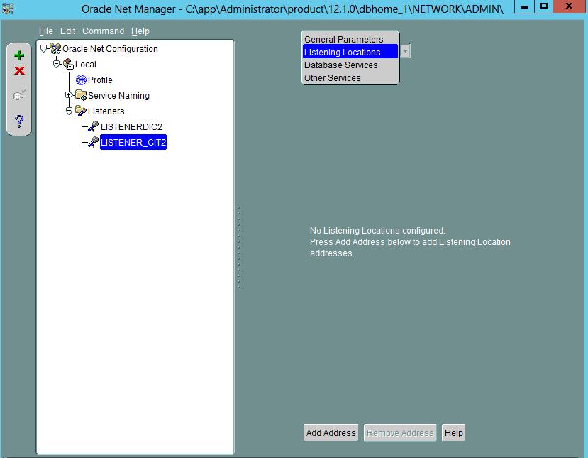 Oracle Database 12c Network configuration 3