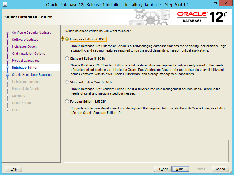 Installing-Oracle-Database-12c-Software-on-Windows 7