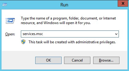 Shutting down the Oracle Instance using Windows Services