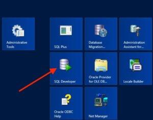 1. Launch SQL Developer