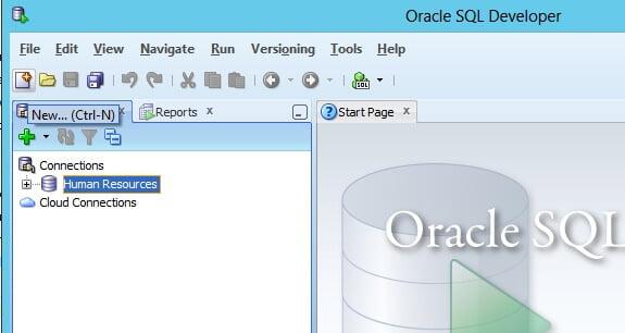 Create 1st SQL Developer program