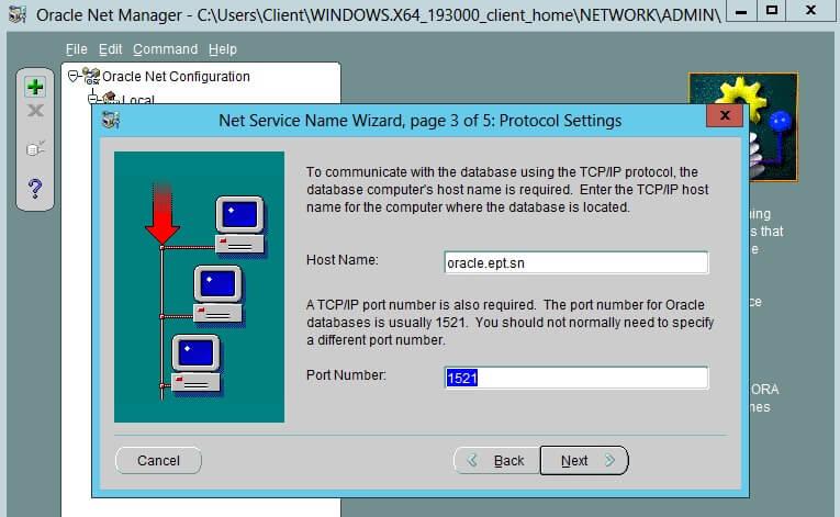 Configure Oracle Client 4